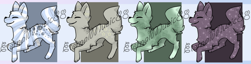 5 Point Doggy Flat Sale :: CLOSED by Etrenelle