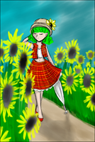 Sunflowers - ver.A by UsagiToxic