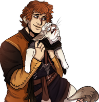 showing off your cat like by Crelghton