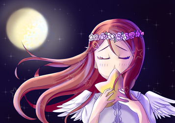 Angel Riko and the Moon by Ann10158