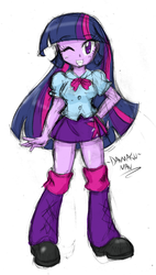 Sketchy Twi by DANMAKUMAN