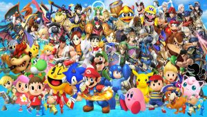 Super Smash Bros Wii U and 3DS Roster by DarkManGc