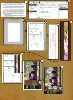 Making a comic page: Step by Step by bribble