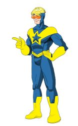 Booster Gold by kingandy