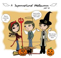 A Supernatural Halloween [part 6] by Xenobia4