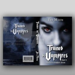 Book Cover Contest - Trained by Vampires by ASGraphicDesk