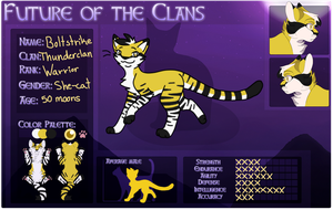 Boltstrike | Thunderclan Warrior | FOTC by Puddlepawproductions