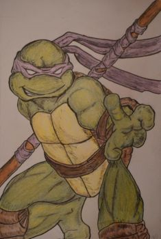 Donatello by melodywinters