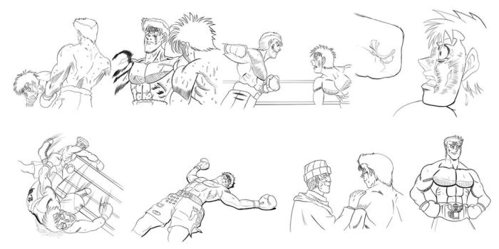 What if Sanada beat Ippo? by SwayzeOne