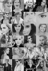 Emma Watson B and W by pumbank