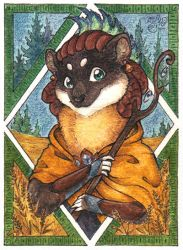ACEO card for Suane by MiriElzar