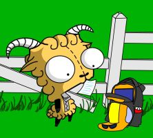 Sheep Gir by MastaAzumarek