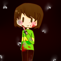 Chara Undertale by KiddoDrawsOficial