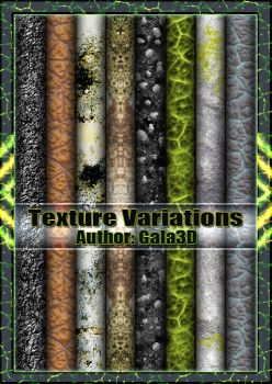 Texture Variations. by Gala3d