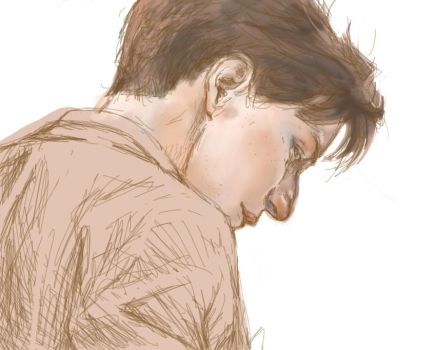 WIP - James McAvoy by stishly