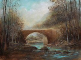 (Bridge) oil paint by Boias