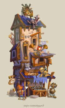 Spare Parts Store by Catell-Ruz