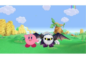 MMD Kirby and Meta Knight Models by zapallito13