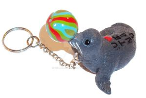 Seal with Ball by Selmmma