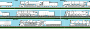 Unpainted Sheet 2  4-8-4s and PRR S2 by Andrewk4
