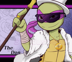 Smooth donatello by Stardust-510