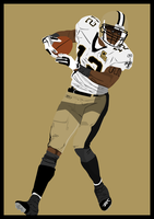 Marques Colston Vector by DarkBeforeDawn