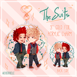 [PREORDERS OPEN] Kiribaku Suits Charm by cherriielle