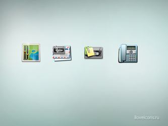 Communication icons by i-love-icons