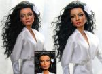 Diana Ross custom doll repaint by noeling