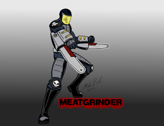 Meatgrinder by Wastelander7