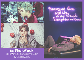 66 / BTS x WINGS - Special Photo PhotoPack by ChanHyukRu