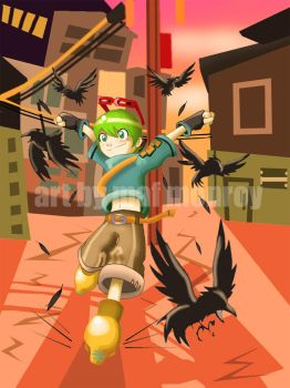 Crow Chase: 2007 by mafbot