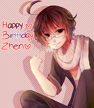 happy birthday zhen- Napolean !! by ShintaRee