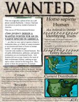 Invasive Species Wanted Poster by foxstory