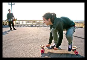 Longboard Fun by jopeg