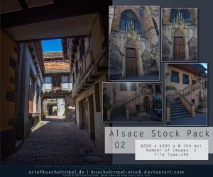 Alsace Stock Pack 02 by kuschelirmel-stock