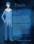 Chara sheet - Davis by wingedpaintbrush
