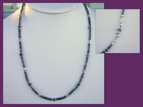 Labradorite and silver by whitewavejewelry