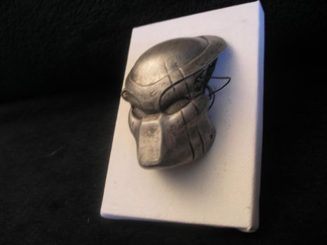 Little Predator mask modeling by ChrisWeyer