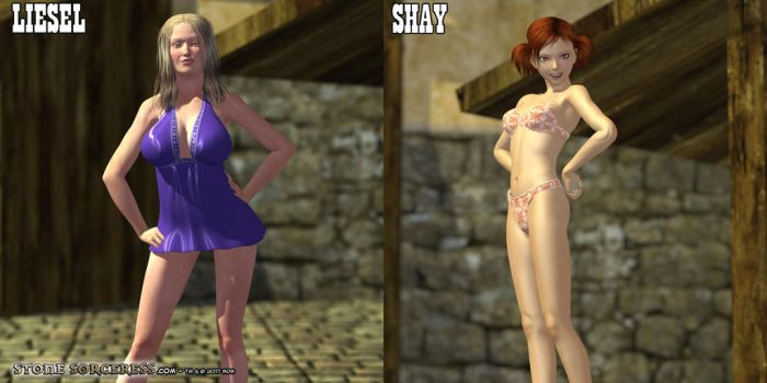 2 PROMO Liesel - Shay by StoneSorceress