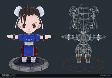 Chunli Color6 by mechanimation