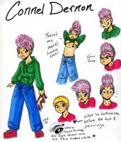 Connel Dernon Referance by sanely-insane