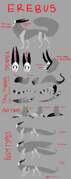 Erebus Species Reference Sheet: OPEN SPECIES by Irabus