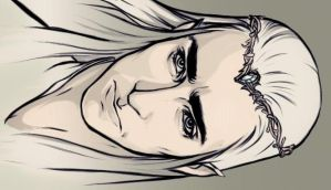Thranduil sketch by ymymy