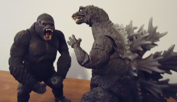 KongvsGodzilla sketch recreation by CosbyDaf