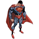 Cosmic Armor Superman Render by Vex2001