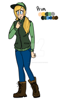 #55 Character Reference: Prim by OatsAndToast