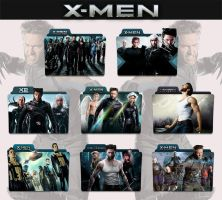 X-Men Collection 2000 - 2014 Folder Icon by sonerbyzt