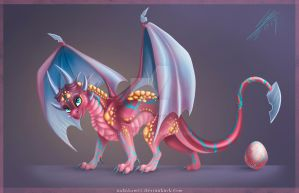 TLoS style Dragon - Egg Adopt (+video) by nubilum93