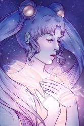 Cosmic Power Sailor Moon by willowdream